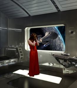 Ilustración novela ciencia ficción Angeles Goyanes